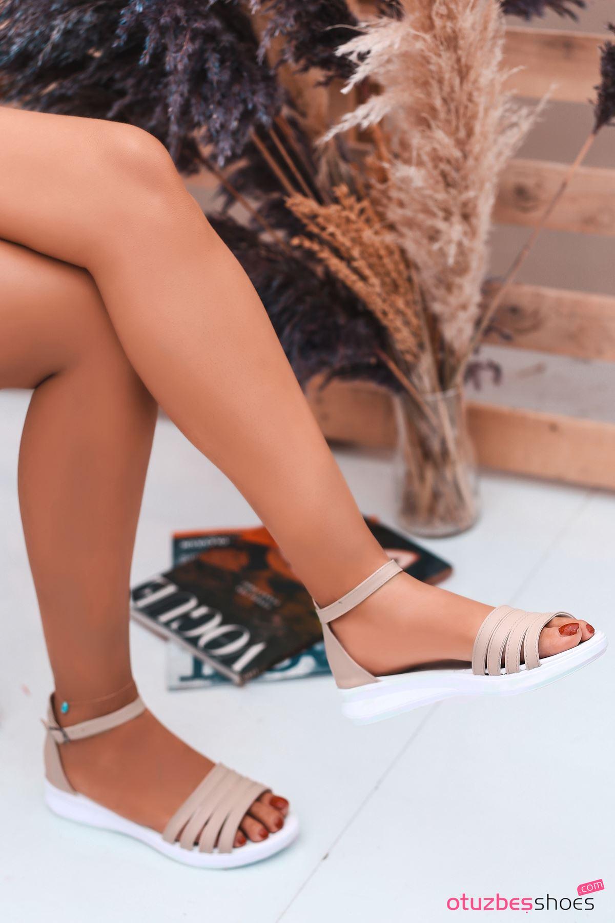 Adele Vizon Kadın Sandalet
