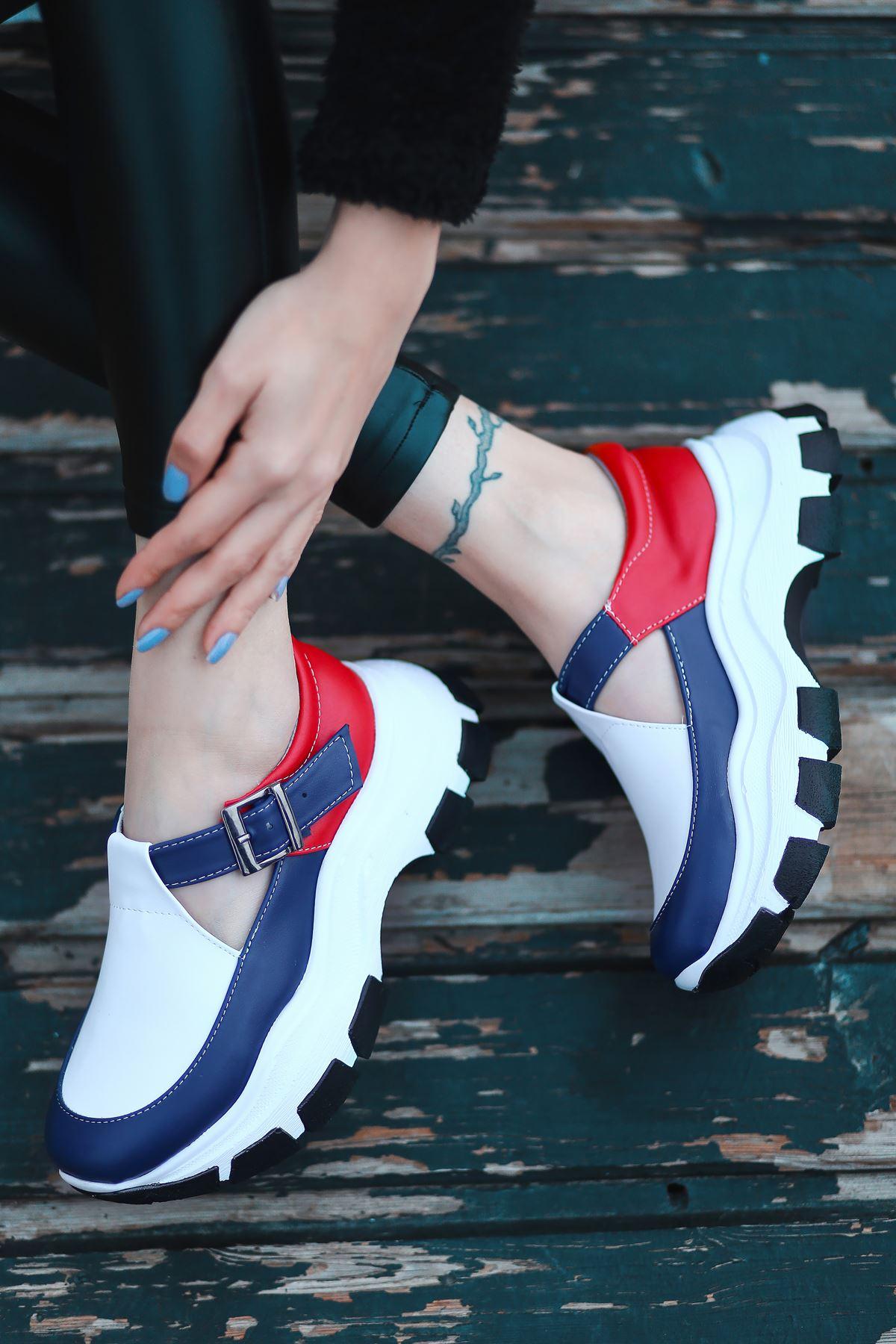 Moscow Mat Deri Tommy Desen Kadın Ayakkabı